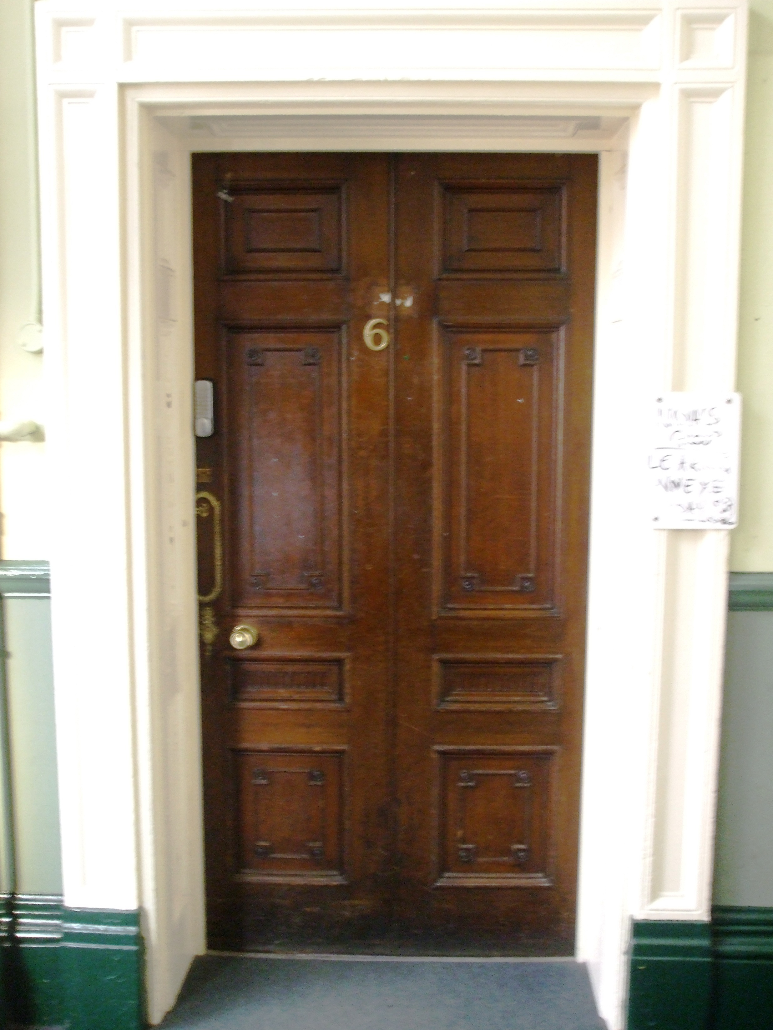 [11 Ground Floor Door In Entrance Hall.JPG] & Hall Doors Kildare u0026 Hall Doors Kildare \u0026 14 The Drive ... pezcame.com